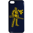 W. Virginia Mountaineers iPhone 5C Graphics Snap on Case - This officially licensed collegiate one piece iPhone 5 snap on case features the W. Virginia Mountaineers primary logo and silhouetted pattern of the team name.  Protects your iPhone 5C from bumps, scratches and other mishaps while allowing for complete access to the phone's functionality. Thank you for shopping with CrazedOutSports.com