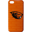 Oregon St. Beavers iPhone 5C Graphics Snap on Case - This officially licensed collegiate one piece iPhone 5 snap on case features the Oregon St. Beavers primary logo and silhouetted pattern of the team name.  Protects your iPhone 5C from bumps, scratches and other mishaps while allowing for complete access to the phone's functionality. Thank you for shopping with CrazedOutSports.com