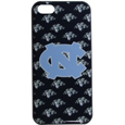 N. Carolina Tar Heels iPhone 5C Graphics Snap on Case - This officially licensed collegiate one piece iPhone 5 snap on case features the N. Carolina Tar Heels primary logo and silhouetted pattern of the team name.  Protects your iPhone 5C from bumps, scratches and other mishaps while allowing for complete access to the phone's functionality. Thank you for shopping with CrazedOutSports.com