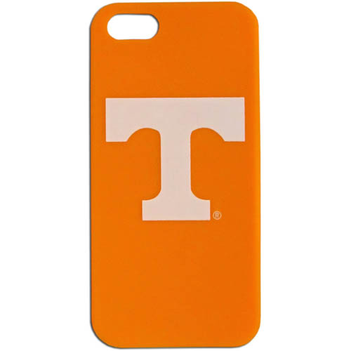 Tennessee iPhone 5 Soft Silicone Case - Our officially licensed MLB silicone case for the iPhone 5 fit snug to the phone offering protection and added to grip for your phone. Thank you for shopping with CrazedOutSports.com