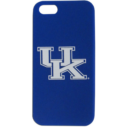Kentucky iPhone 5 Soft Silicone Case - Our officially licensed MLB silicone case for the iPhone 5 fit snug to the phone offering protection and added to grip for your phone. Thank you for shopping with CrazedOutSports.com