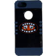 Auburn Tigers iPhone 5 Rocker Case - Our Auburn Tigers collegiate iPhone 5 Rocker case is a 2 piece case with inner silicone skin and outer hard case with silk screened team graphics. Protects your iPhone from bumps, scratches and other mishaps while allowing for complete access to the phone's functionality. Thank you for shopping with CrazedOutSports.com