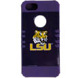 LSU Tigers iPhone 5 Rocker Case - This collegiate LSU Tigers iPhone 5 Rocker case is a 2 piece case with inner silicone skin and outer hard case with silk screened team graphics. Protects your iPhone from bumps, scratches and other mishaps while allowing for complete access to the phone's functionality. Thank you for shopping with CrazedOutSports.com