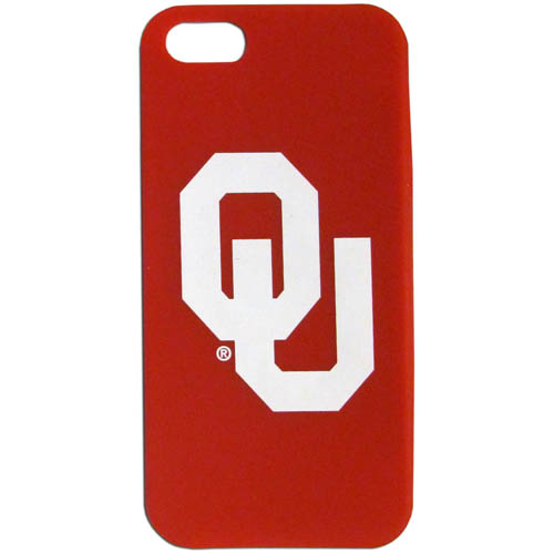 Oklahoma iPhone 5 Soft Silicone Case - Our officially licensed MLB silicone case for the iPhone 5 fit snug to the phone offering protection and added to grip for your phone. Thank you for shopping with CrazedOutSports.com
