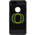 Oregon iPhone 5 Rocker Case - Our collegiate iPhone 5 Rocker case is a 2 piece case with inner silicone skin and outer hard case with silk screened team graphics. Protects your iPhone from bumps, scratches and other mishaps while allowing for complete access to the phone's functionality. Thank you for shopping with CrazedOutSports.com