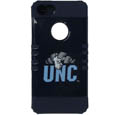 N. Carolina iPhone 5 Rocker Case - Our collegiate iPhone 5 Rocker case is a 2 piece case with inner silicone skin and outer hard case with silk screened team graphics. Protects your iPhone from bumps, scratches and other mishaps while allowing for complete access to the phone's functionality. Thank you for shopping with CrazedOutSports.com