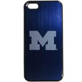Michigan Wolverines iPhone 5/5S Etched Case - This ultra cool hard shell snap on Michigan Wolverines iPhone 5/5S Etched Case provides great protection for the phone while the soft rubber finish adds to your grip to help prevent dropping the phone. This stylish Michigan Wolverines iPhone 5/5S Etched Case is finished off with a brushed metal team plate with laser etched team logo. Thank you for shopping with CrazedOutSports.com