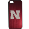 Nebraska Cornhuskers iPhone 5/5S Etched Case - This ultra cool hard shell snap on case provides great protection for the phone while the soft rubber finish adds to your grip to help prevent dropping the phone. This stylish case is finished off with a brushed metal Nebraska Cornhuskers team plate with laser etched team logo. Thank you for shopping with CrazedOutSports.com
