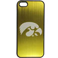Iowa Hawkeyes iPhone 5/5S Etched Case - This ultra cool Iowa Hawkeyes iPhone 5/5S Etched hard shell snap on case provides great protection for the phone while the soft rubber finish adds to your grip to help prevent dropping the phone. This stylish case is finished off with a brushed metal team plate with laser etched team logo. Thank you for shopping with CrazedOutSports.com