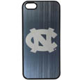 N. Carolina Tar Heels iPhone 5/5S Etched Case - This ultra cool hard shell snap on case provides great protection for the phone while the soft rubber finish adds to your grip to help prevent dropping the phone. This stylish case is finished off with a brushed metal team plate with laser etched team logo. Thank you for shopping with CrazedOutSports.com