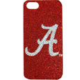 Alabama Crimson Tide iPhone 5 Crystal Case - Add a little glitz to your game with our iPhone 5 Glitz faceplates. These officially licensed flashy cases are covered in colored crystals featuring your favorite Alabama Crimson Tide team logo.The single piece faceplate slips easily onto your phone while allowing complete access to the phones functionality. A great, fashionable way to protect your phone investment and show off your school pride! Thank you for shopping with CrazedOutSports.com