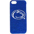 Penn St. iPhone 5 Crystal Case - Add a little glitz to your game with our iPhone 5 Glitz faceplates. These officially licensed flashy cases are covered in colored crystals featuring your favorite team logos. The single piece faceplate slips easily onto your phone while allowing complete access to the phones functionality. A great, fashionable way to protect your phone investment and show off your school pride! Thank you for shopping with CrazedOutSports.com