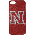 Nebraska iPhone 5 Crystal Case - Add a little glitz to your game with our iPhone 5 Glitz faceplates. These officially licensed flashy cases are covered in colored crystals featuring your favorite team logos. The single piece faceplate slips easily onto your phone while allowing complete access to the phones functionality. A great, fashionable way to protect your phone investment and show off your school pride! Thank you for shopping with CrazedOutSports.com