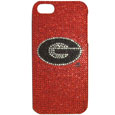 Georgia Bulldogs iPhone 5 Crystal Case - Add a little glitz to your game with our Georgia Bulldogs iPhone 5 Glitz faceplates. These officially licensed flashy cases are covered in colored crystals featuring your favorite team logos. The single piece faceplate slips easily onto your phone while allowing complete access to the phones functionality. A great, fashionable way to protect your phone investment and show off your school pride! Thank you for shopping with CrazedOutSports.com