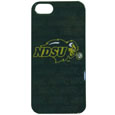 N. Dakota St. Bison iPhone 5 Graphics Snap on Case - This officially licensed collegiate one piece iPhone 5 snap on case features the team's primary logo and silhouetted pattern of the team name.  Protects your iPhone from bumps, scratches and other mishaps while allowing for complete access to the phone's functionality. Thank you for shopping with CrazedOutSports.com