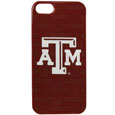 Texas A&M iPhone 5 Graphics Case - This officially licensed collegiate one piece iPhone 5 snap on case features the team's primary logo and silhouetted pattern of the team name.  Protects your iPhone from bumps, scratches and other mishaps while allowing for complete access to the phone's functionality. Thank you for shopping with CrazedOutSports.com