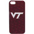 Virginia Tech iPhone 5 Graphics Case - This officially licensed collegiate one piece iPhone 5 snap on case features the team's primary logo and silhouetted pattern of the team name.  Protects your iPhone from bumps, scratches and other mishaps while allowing for complete access to the phone's functionality. Thank you for shopping with CrazedOutSports.com