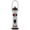 Nebraska Cornhuskers Thistle Bird Feeder