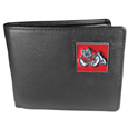 Fresno St. Bulldogs  Leather Bi-fold Wallet Packaged in Gift Box - Our officially licensed fine grain leather bi-fold wallet features numerous card slots, large billfold pocket and flip up window ID slot. This quality wallet has an enameled Fresno St. Bulldogs emblem on the front of the wallet. Thank you for shopping with CrazedOutSports.com