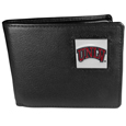 UNLV Rebels Leather Bi-fold Wallet Packaged in Gift Box