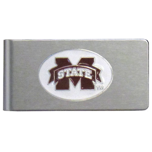 Mississippi St. Brushed Money Clip