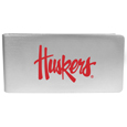 Nebraska Cornhuskers Logo Money Clip