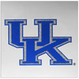 Kentucky Wildcats Vinyl Bling Decals - Travel to the game in style! These 6 inch vinyl decals have crystal borders that shimmer and shine your Kentucky Wildcats pride. The crisp team graphics and crystal come on a single sheet for easy application to your car or your window. Thank you for shopping with CrazedOutSports.com