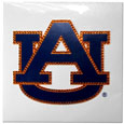Auburn Tigers Vinyl Bling Decals - Travel to the game in style! These 6 inch vinyl decals have crystal borders that shimmer and shine your Auburn Tigers pride. The crisp team graphics and crystal come on a single sheet for easy application to your car or your window. Thank you for shopping with CrazedOutSports.com