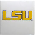 LSU Tigers Vinyl Bling Decal - Travel to the game in style with this LSU Tigers Vinyl Bling Decal! This 6 inch LSU Tigers Vinyl Bling Decal has crystal borders that shimmer and shine your LSU Tigers pride. The crisp team graphics and crystal come on a single sheet for easy application to your car or your window. Thank you for shopping with CrazedOutSports.com