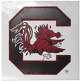 S. Carolina Gamecocks Vinyl Bling Decals - Travel to the game in style! These 6 inch vinyl decals have crystal borders that shimmer and shine your S. Carolina Gamecocks pride. The crisp team graphics and crystal come on a single sheet for easy application to your car or your window. Thank you for shopping with CrazedOutSports.com