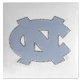 N. Carolina Tar Heels Vinyl Bling Decals - Travel to the game in style! These 6 inch vinyl decals have crystal borders that shimmer and shine your N. Carolina Tar Heels pride. The crisp team graphics and crystal come on a single sheet for easy application to your car or your window. Thank you for shopping with CrazedOutSports.com