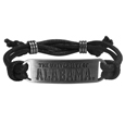 Alabama Crimson Tide Cord Bracelet - Cord bracelets have been a popular fashion accessory for many years. They offer a classic, subtle way to for a fan to get into the game. Our officially licensed cord bracelets feature a deeply carved Alabama Crimson Tide logo on a high quality adjustable cord. Thank you for shopping with CrazedOutSports.com