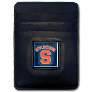 College Money Clip/Card Holder Boxed- Syracuse Orange