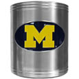 Michigan Wolverines Steel Can Cooler