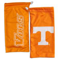Tennessee Volunteers Microfiber Glasses Bag - Our officially licensed collegiate soft microfiber glasses bag  with the Tennessee Volunteers logo on one side and the team name on the other. The microfiber bag protects your glasses from scratches and can be used as a cleaning cloth. Thank you for shopping with CrazedOutSports.com