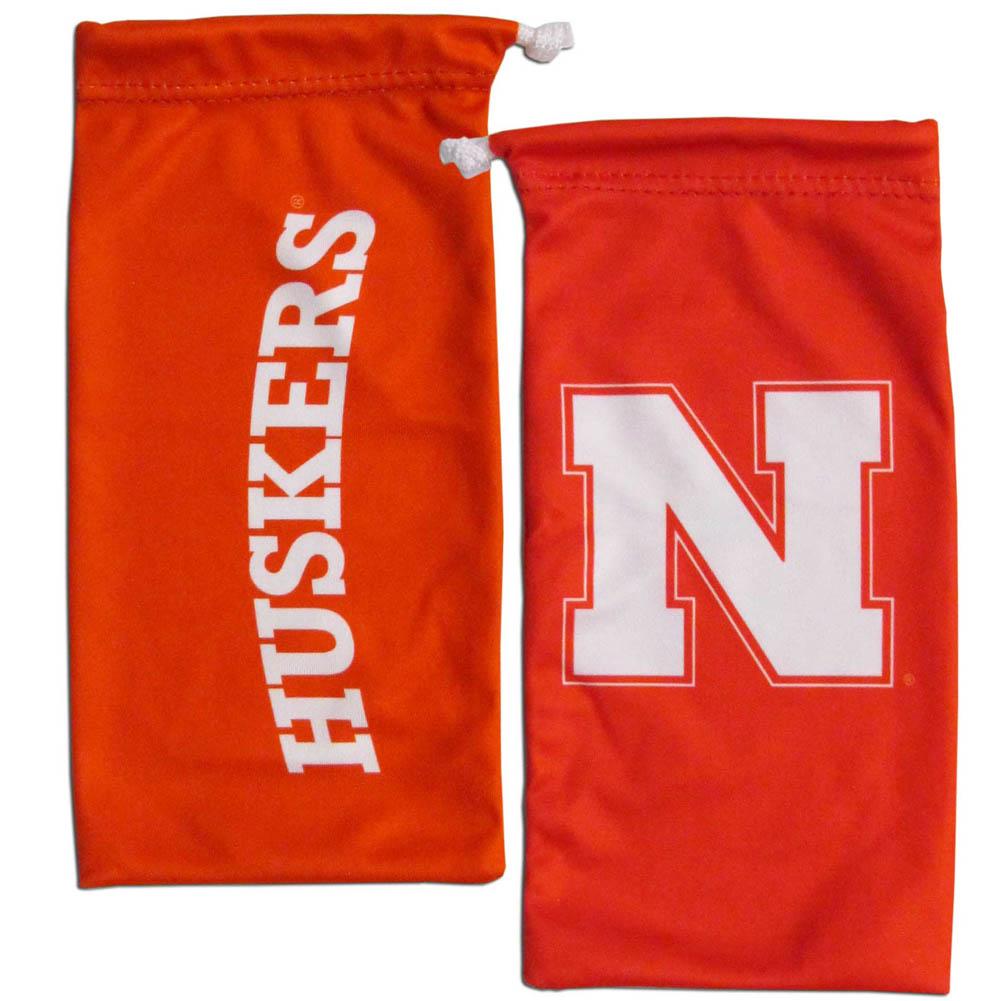 Nebraska Cornhuskers Microfiber Glasses Bag