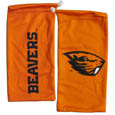 Oregon St. Beavers Microfiber Glasses Bag - Our officially licensed collegiate soft microfiber glasses bag  with the Oregon St. Beavers logo on one side and the team name on the other. The microfiber bag protects your glasses from scratches and can be used as a cleaning cloth. Thank you for shopping with CrazedOutSports.com