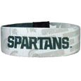Michigan St. Spartans Stretch Bracelet - Instantly become a team VIP with this colorful Michigan St. Spartans Stretch Bracelet! This Michigan St. Spartans Stretch Bracelet is not your average, cheap stretch bands the stretch fabric and dye sublimation allows the crisp graphics and logo designs to really pop. This Michigan St. Spartans Stretch Bracelet is a must have for any Michigan St. Spartans fan!