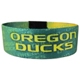 Oregon Ducks Stretch Bracelets - Instantly become a team VIP with these colorful wrist bands! These are not your average, cheap stretch bands the stretch fabric and dye sublimation allows the crisp graphics and logo designs to really pop. A must have for any Oregon Ducks fan! Thank you for shopping with CrazedOutSports.com