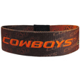 Oklahoma St. Cowboys Stretch Bracelets - Instantly become a team VIP with these colorful wrist bands! These are not your average, cheap stretch bands the stretch fabric and dye sublimation allows the crisp graphics and logo designs to really pop. A must have for any Oklahoma St. Cowboys fan!