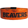 Oregon St. Beavers Stretch Bracelets - Instantly become a team VIP with these colorful wrist bands! These are not your average, cheap stretch bands the stretch fabric and dye sublimation allows the crisp graphics and logo designs to really pop. A must have for any Oregon St. Beavers fan!