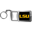 LSU Tigers Flashlight Key Chain with Bottle Opener