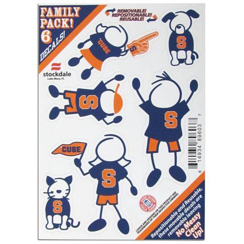 Syracuse Family Decals