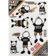 PITT Panthers Family Decal Set Small