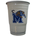 Memphis Tigers Plastic Game Day Cups