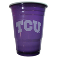 TCU Horned Frogs Plastic Game Day Cups