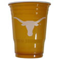 Texas Longhorns Game Day Cups - Our collegiate game day cups come in a sleeve of 24 disposable 18 oz plastic cups and feature a silk screened school logo. Thank you for shopping with CrazedOutSports.com