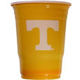 Tennessee Volunteers Game Day Cups - Our collegiate game day cups come in a sleeve of 18 disposable 18 oz plastic cups and feature a silk screened school logo. Thank you for shopping with CrazedOutSports.com