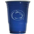 Penn St. Nittany Lions Game Day Cups - What every tailgating or backyard event needs! Comes in the popular 18 oz size for drinks or ping pong balls! Our collegiate game day cups come in a sleeve of 24 disposable 18 oz plastic cups and feature a silk screened Penn St. Nittany Lions logo. Thank you for shopping with CrazedOutSports.com