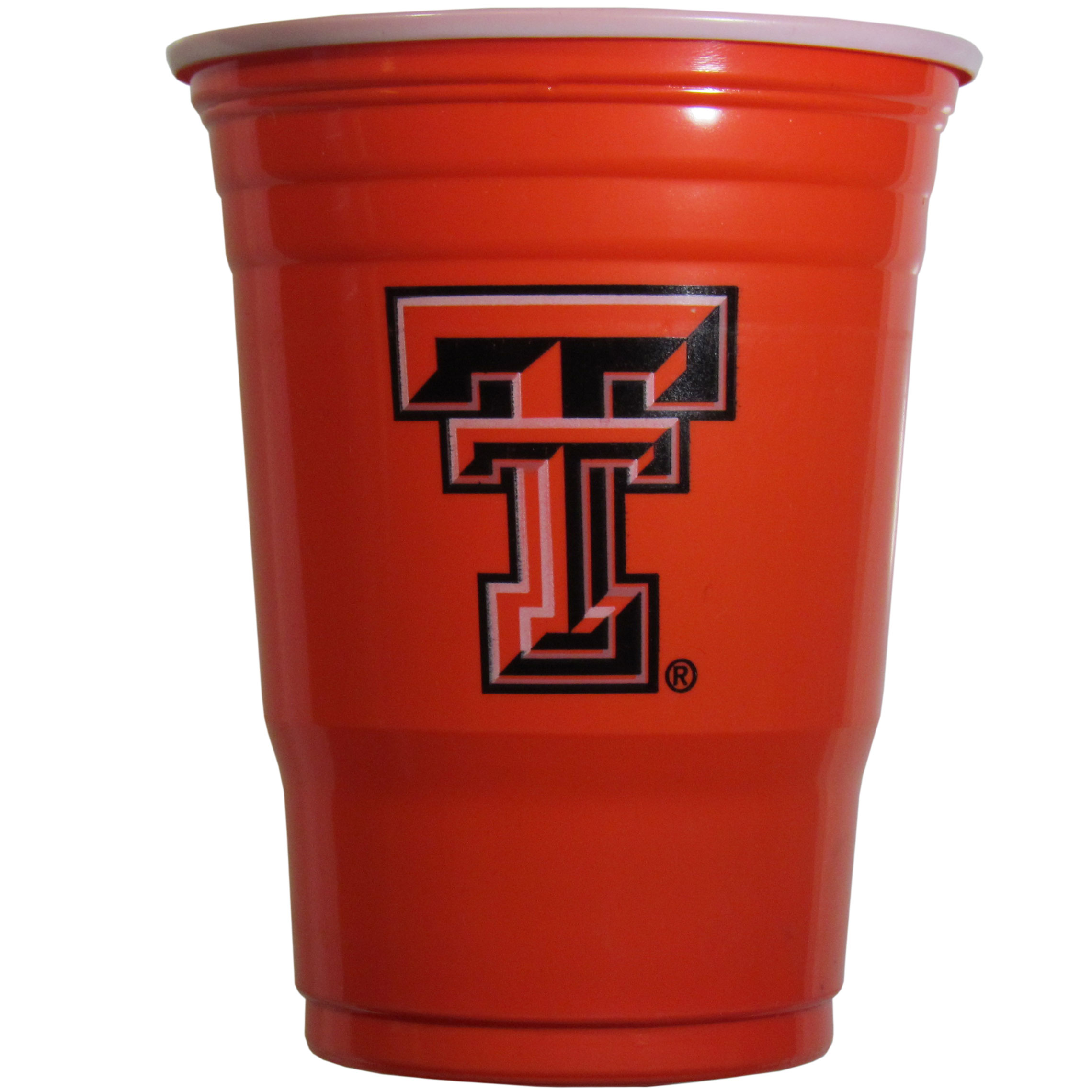 Texas Tech Raiders Plastic Game Day Cups - Our 18 ounce game day cups are what every tailgating or backyard events needs! The cups feature a big Texas Tech Raiders logo so you can show off your team pride. The popular 18 ounce size is perfect for drinks or ping pong balls! Sold in sleeves of 18 cups.